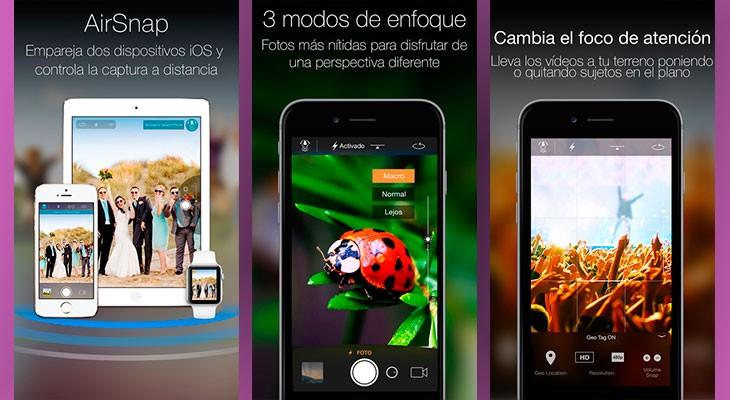 La aplicación gratis de la semana es Camera Plus
