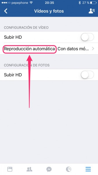 Descativar-videos-Facebook-iPhone