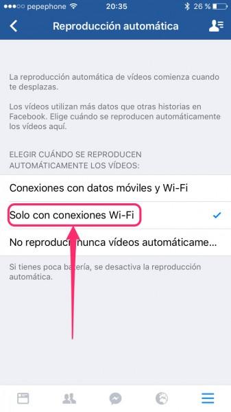 Descativar-videos-Facebook-iPhone