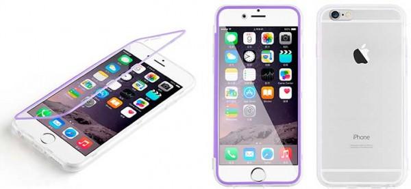 Funda con tapa transparente para iPhone 6 y 6s - JAMMYLIZARD
