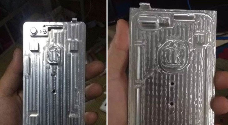 Se filtran los moldes del iPhone 7 y el iPhone 7 Plus