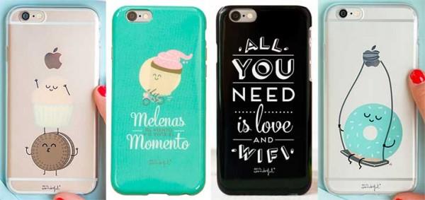 Funda divertida para iPhone 6 y 6s - Mr Wonderful
