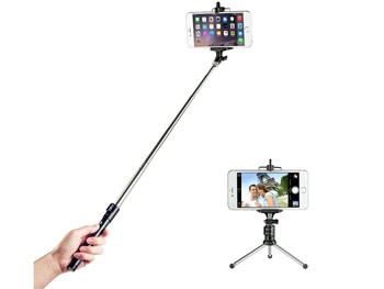 Palo de Selfie Bluetooth con trípode para iPhone