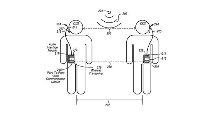 Apple convierte los auriculares del iPhone en walkie-talkies inteligentes