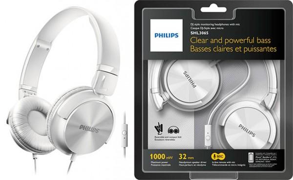 Auriculares de diadema con micro baratos - Philips SHL3065