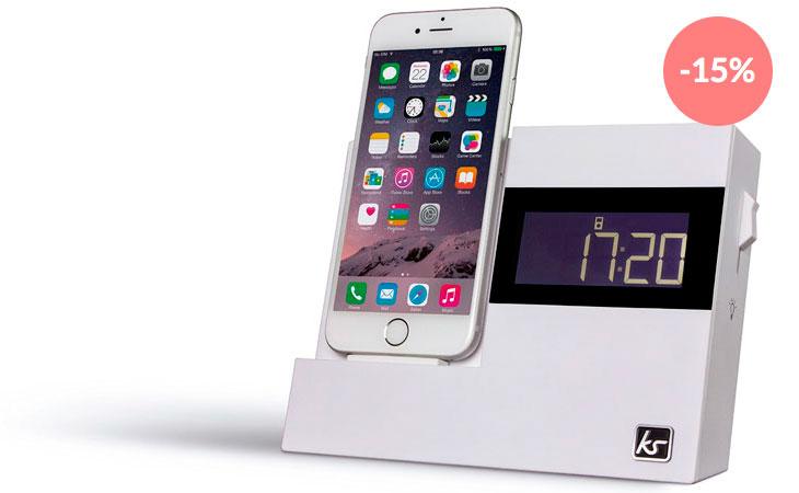 Reloj_despertador_con_base_de_carga_para_iPhone_y_radio