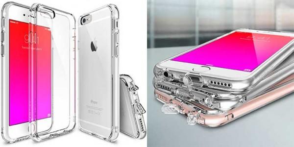 Funda bumper para iPhone 6 y 6s - Ringke Fusion