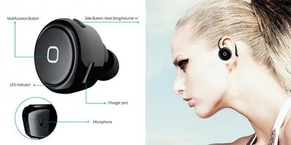 Mini auriculares baratos para iPhone - VicTsing