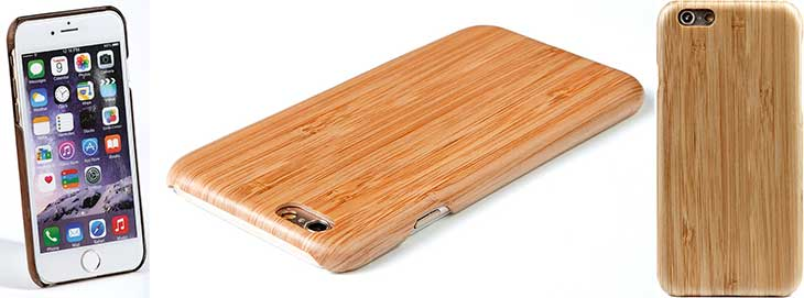 Funda de madera para iPhone 6, 6s, 6 Plus y 6s Plus - Wola Air