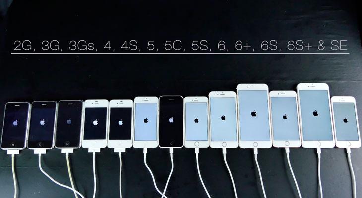 iPhone SE Vs Todos los iPhone lanzados hasta el momento [Test de velocidad]