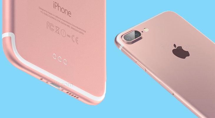 Toda la línea de iPhone 7 Plus tendrá cámara dual y 3 GB de RAM