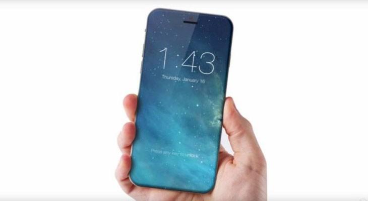 La pantalla del iPhone 7s (o iPhone 8)  ocupará toda la parte frontal del dispositivo