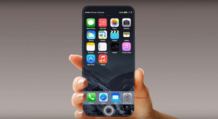Apple patenta un sensor de Touch ID que puede integrarse en la pantalla del iPhone