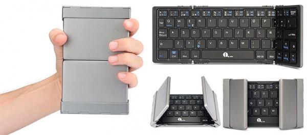 Teclado Bluetooth plegable compatible con iPad - 1byone