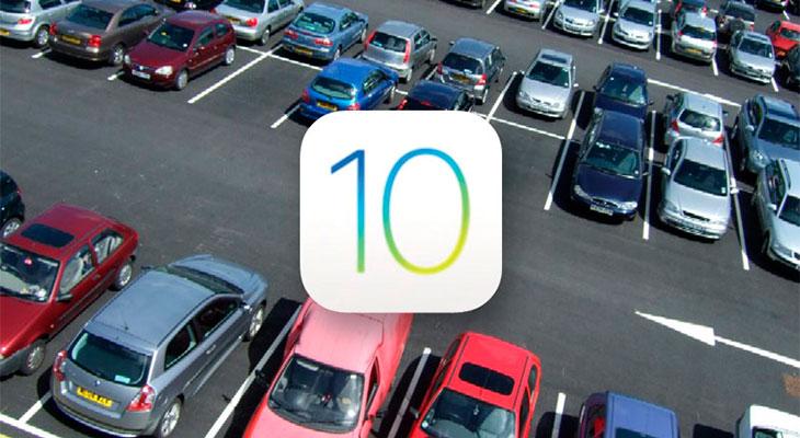 En iOS 10, Mapas recordará donde has aparcado tu coche