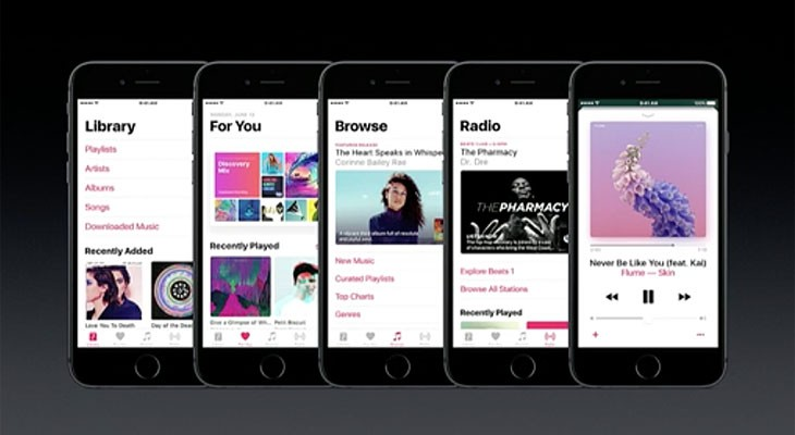 Estas son las novedades que traerá iOS 10 a Apple Music
