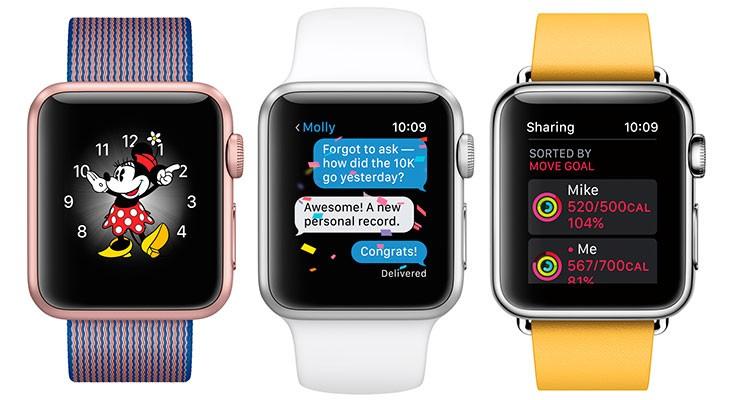 watchOS 3 añadirá más aplicaciones nativas al Apple Watch