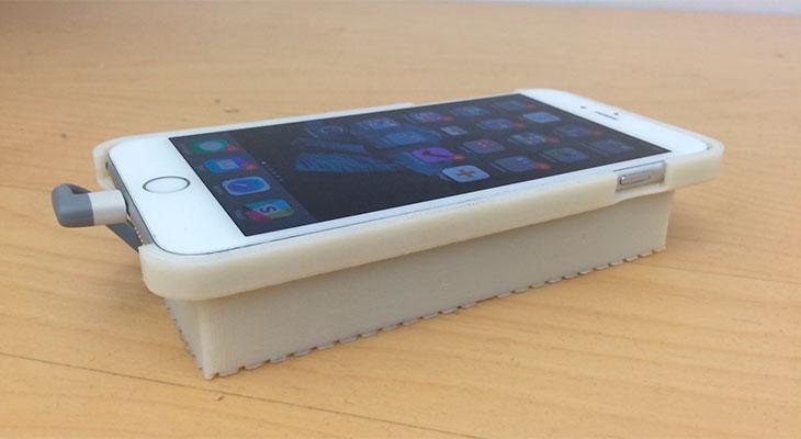 Esta carcasa consigue hacer funcionar Android en un iPhone