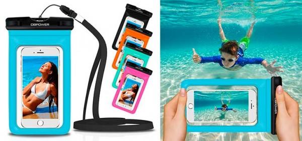 Funda-bolsa sumergible universal para iPhone y otros smartphones - DBPOWER