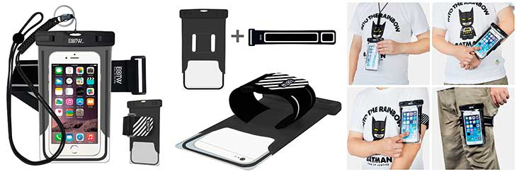 Brazalete impermeable para iPhone y Móvil - EOTW