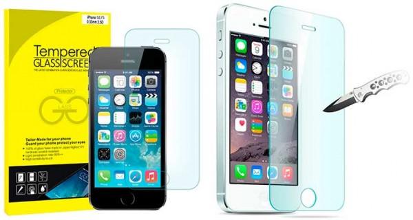Protector de pantalla para iPhone SE, 5, 5s y 5c - JETech