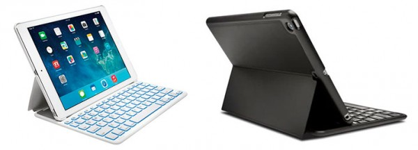 Teclado con retroiluminación para iPad Air 2 - Kensington KeyFolio Thin X2