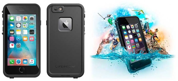 Funda sumergible para iPhone 6 Plus y 6s Plus - LifeProof Fre
