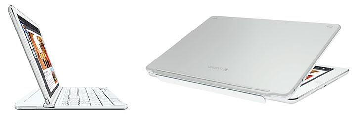 Teclado clip-on para iPad Air 2 - Logitech Ultrathin