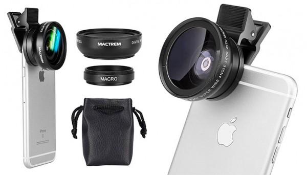 Lente Gran angular y macro para iPhone - Mactrem