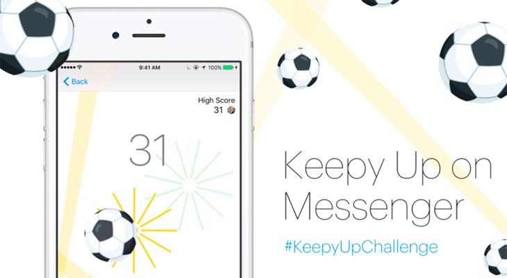 Cómo activar el juego de fútbol secreto de Messenger