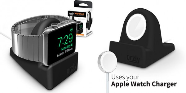 Soporte de carga barato para Apple Watch - Orzly Night-Stand