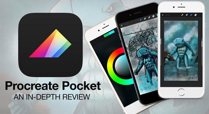 Apple regala la aplicación de dibujo para iPhone Procreate Pocket