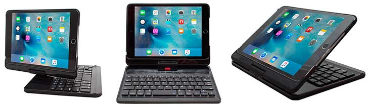Teclado para iPad mini 4 con funda - Snugg