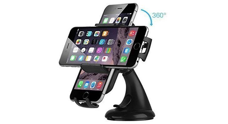 Soporte de coche 360 grados para iPhone