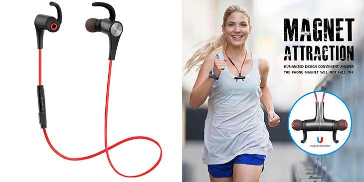 Auriculares Bluetooth deportivos - SoundPEATS Q12