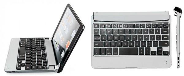 Teclado clip-on barato para iPad mini 1, 2 y 3 - Toogoo