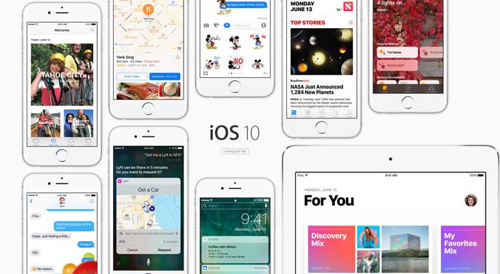 iOS 10: Estas son todas las novedades del nuevo sistema operativo del iPhone