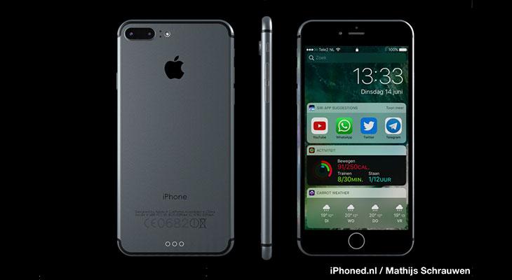 Así sería un iPhone 7 Plus con iOS 10 [Concepto]