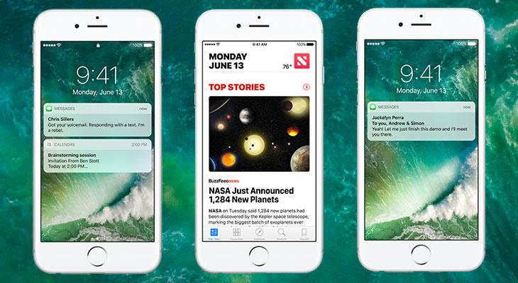 Instalar iOS 10 podría liberar espacio de almacenamiento en el iPhone