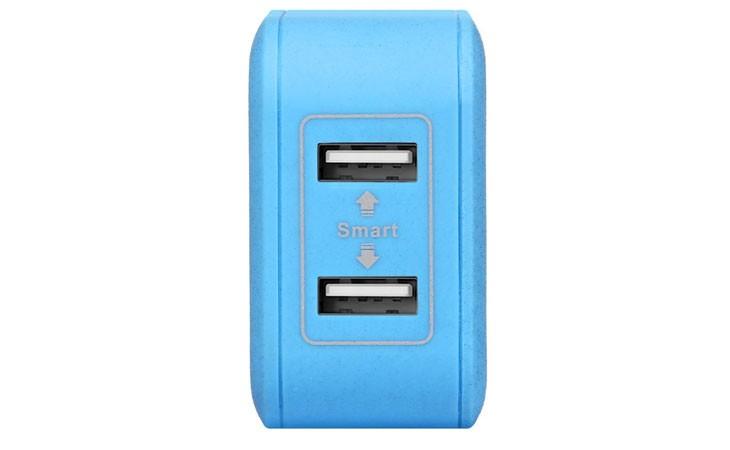 Cargador rápido de pared de 20W con 2 USB