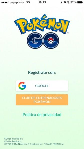 Inicio-Pokemon-Go