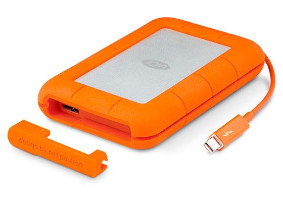 Disco duro externo ultrarresistente para Mac - LaCie Rugged Thunderbolt