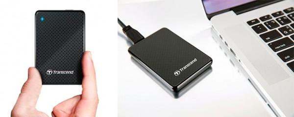SSD externo para Mac - Transcend ESD400