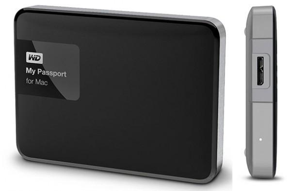 Disco duro externo para Mac - Western Digital My Passport for Mac