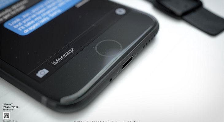 Vuelve el rumor de un iPhone 7 con botón Home táctil y en color negro espacial
