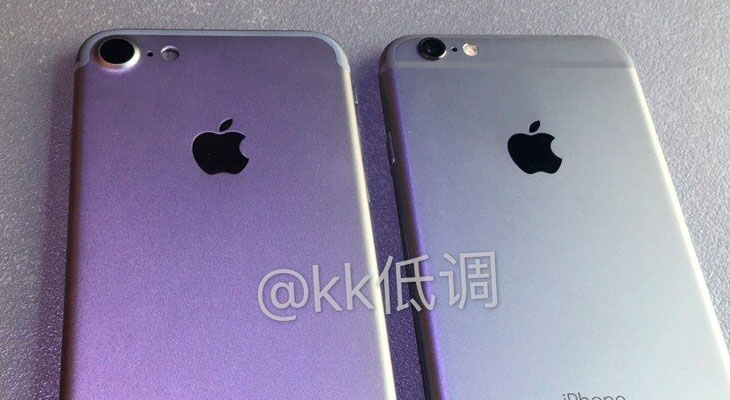 Se filtra nuevo vídeo que compara el iPhone 7 con el iPhone 6s