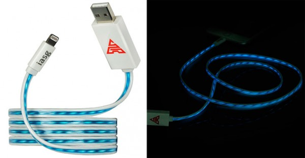 Cable Lightning MFi con luz LED incorporada - iasg