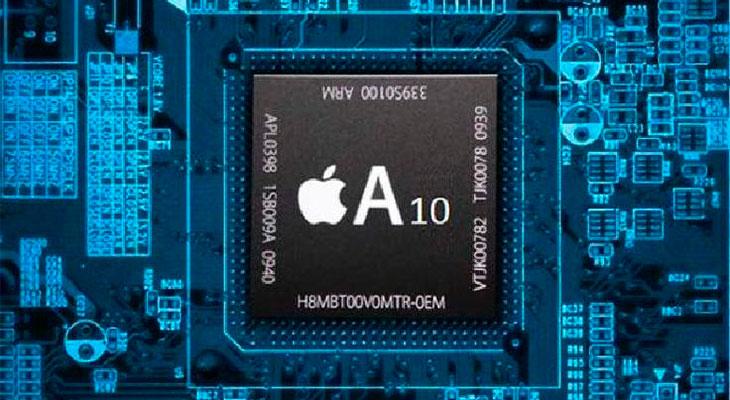 """Aparece una fotografía del supuesto procesador """"A10"""" del iPhone 7"""