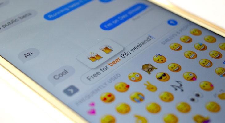 Cómo cambiar texto por Emojis en la App de mensajes de iOS 10