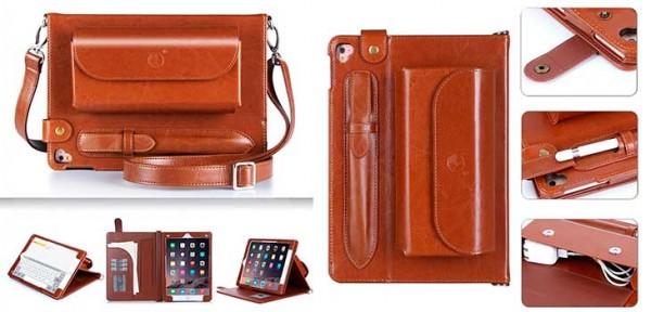 Funda con asa tipo bandolera para iPad Pro 9.7 y 12.9 - Fyy